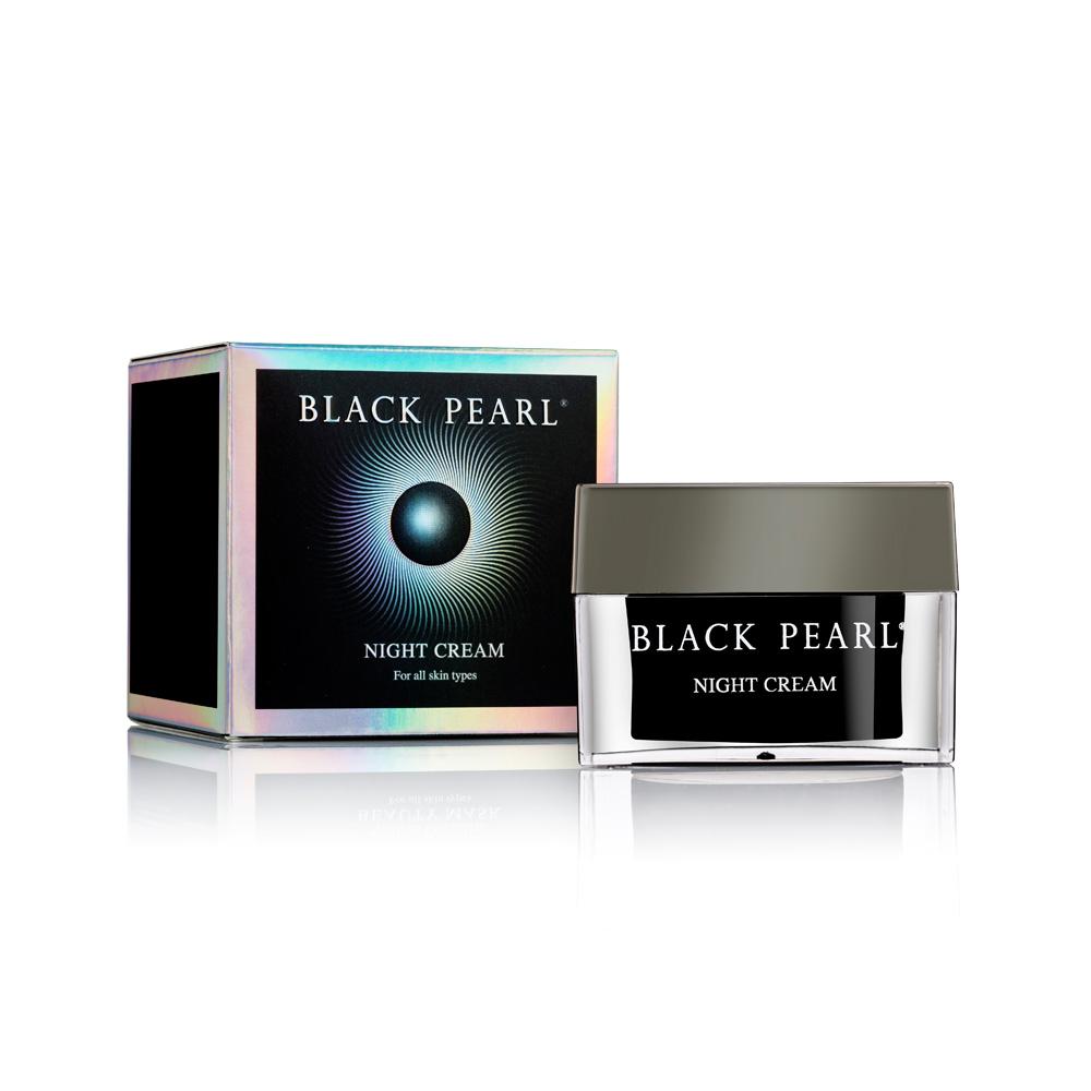 Crème de nuit Black Pearl