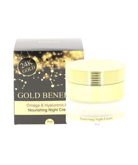 Crème de nuit nourrissante Gold Benefit