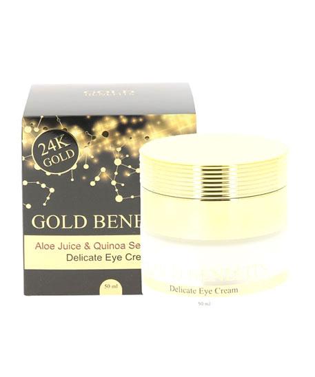 Crème contour des yeux Gold benefits